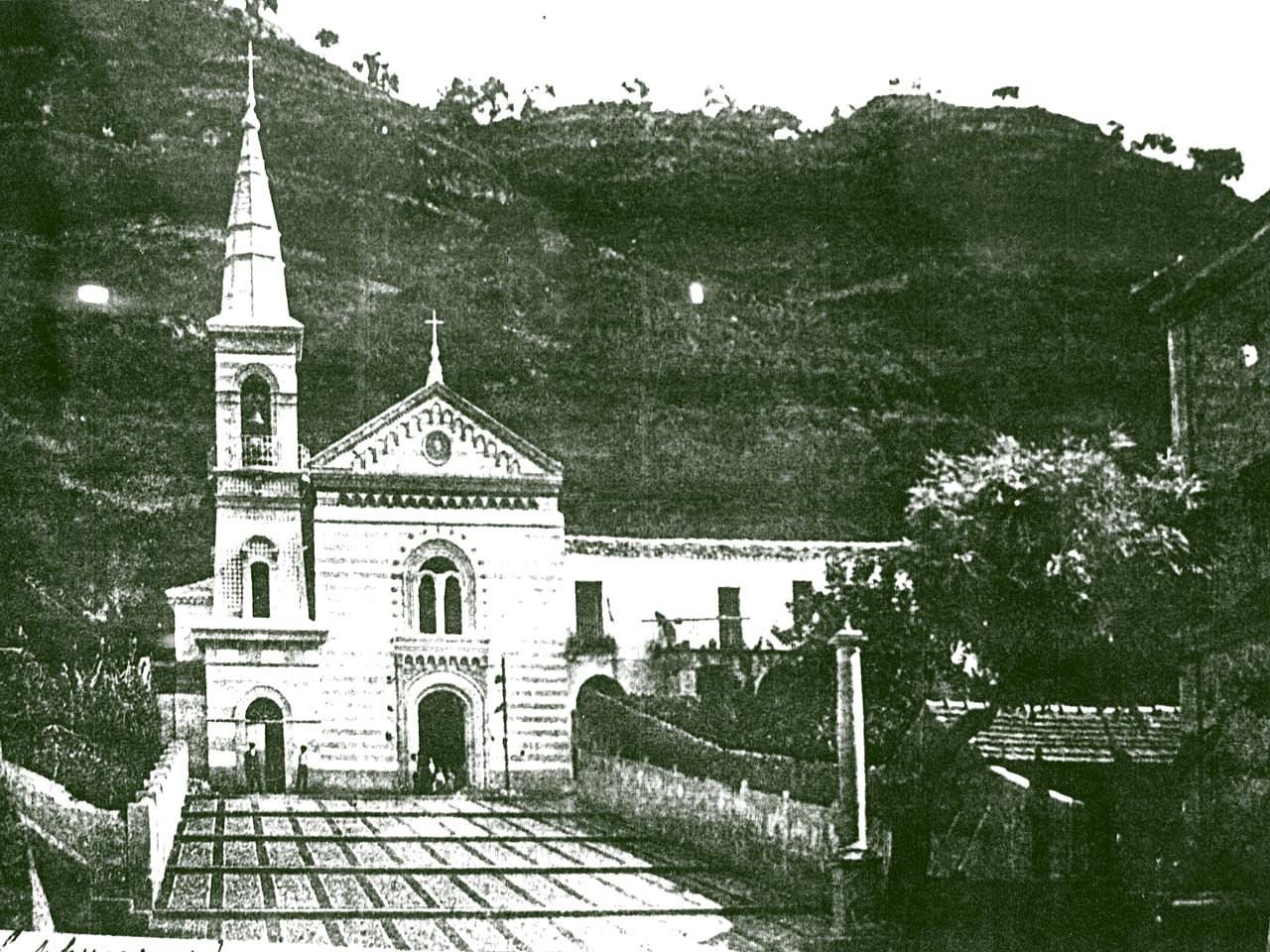 La Chiesa dei Cappuccini una volta...