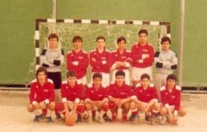 Pallamano Amantea, La formazione Campione Regionale allievi nel 1985