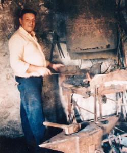 Mastro Gigio Del Vecchio, fabbro