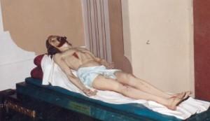 Statua Gesù Cristo morto