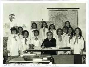 Maestra Franca Campaiola - a.s. 1974-75