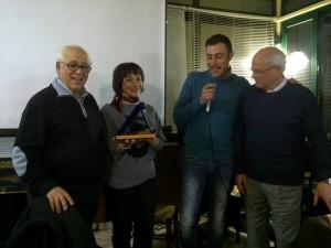 Targa dell'Associazione all'Avv. Morelli