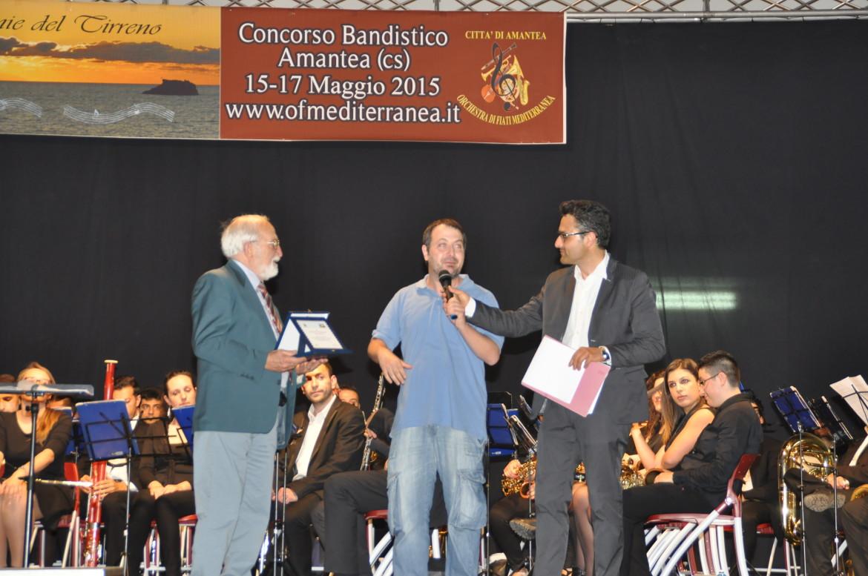 """Consegna targa - Concorso Bandistico """"Armonie del Tirreno"""""""