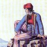 Costume antico pescatori amanteani