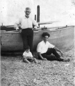 Pescatori amanteani di un tempo