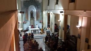 La Messa di Natale trasmessa in diretta dalla Chiesa dei Cappuccini