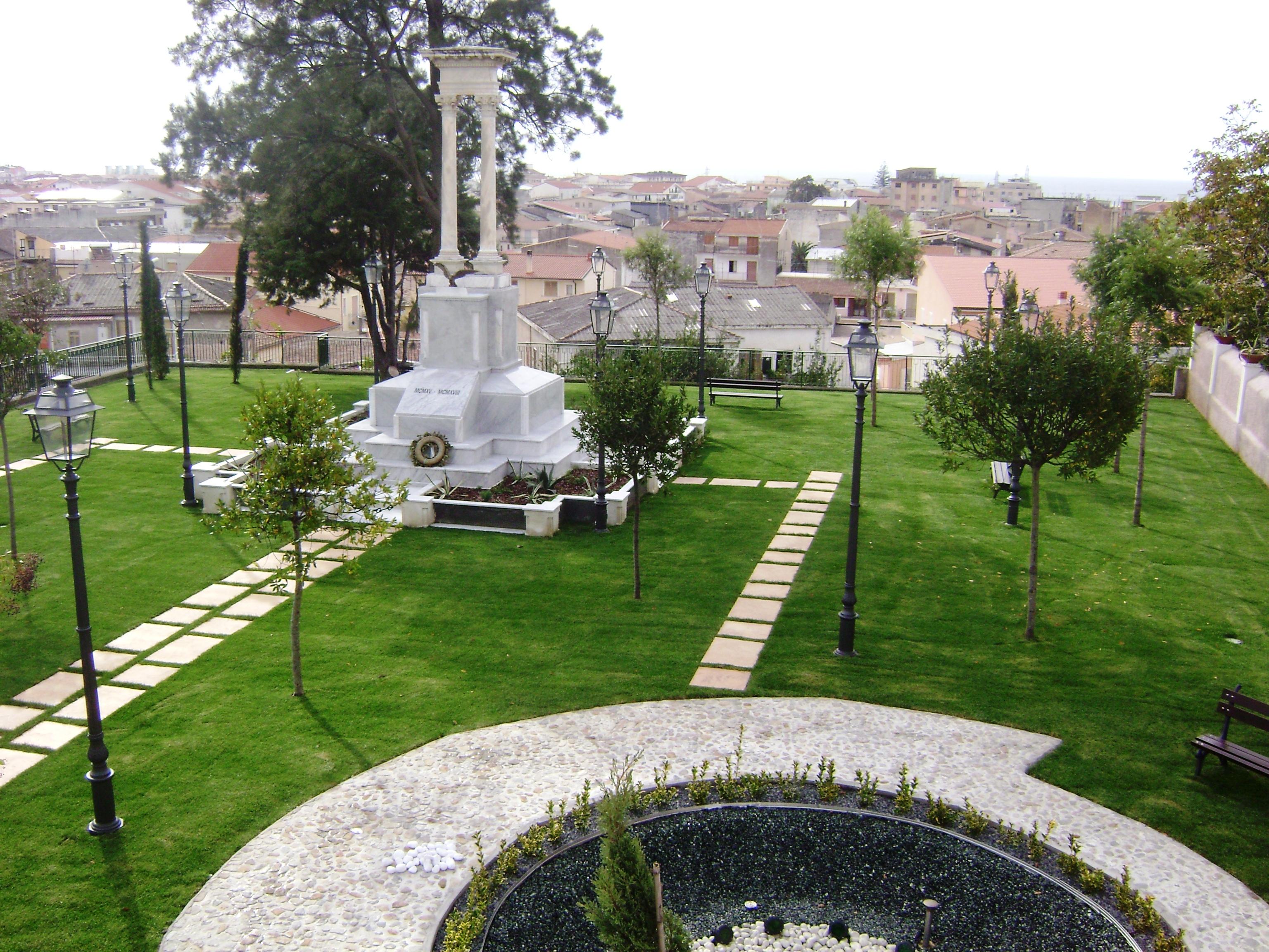 Monumento ai Caduti oggi..