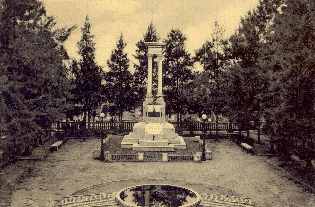 Monumento ai Caduti una volta...