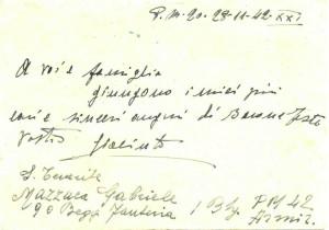P.M. 20 (ARMIR) - 3 recto