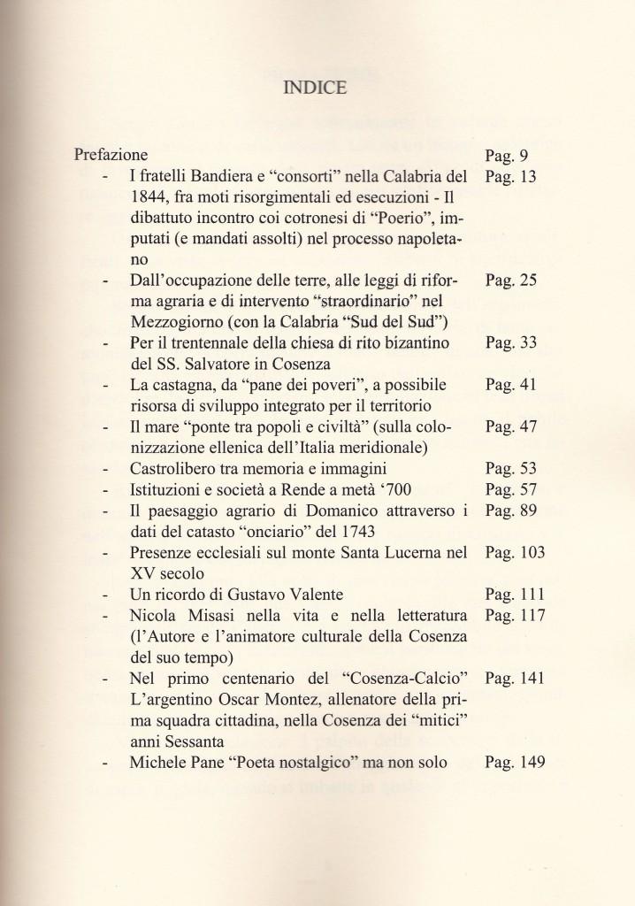 """""""Fatti, Luoghi e Personaggi della mia terra"""" di Sergio Chiatto - indice"""