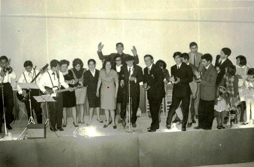 Spettacolo organizzato dal Club Altair al Cinema Bruni (1962)