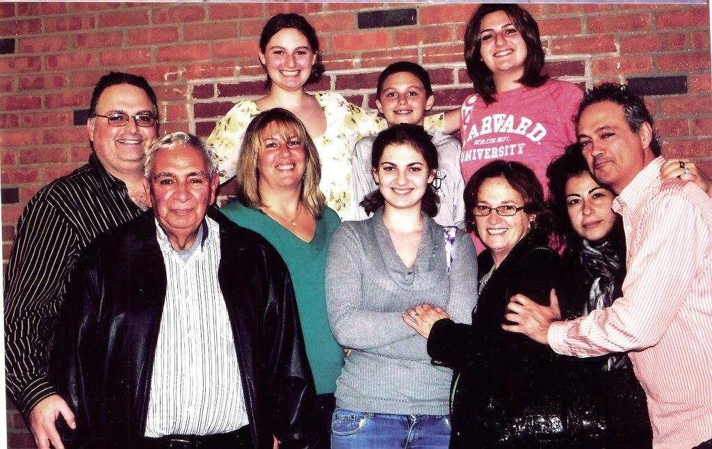 Rocco con la sua famiglia