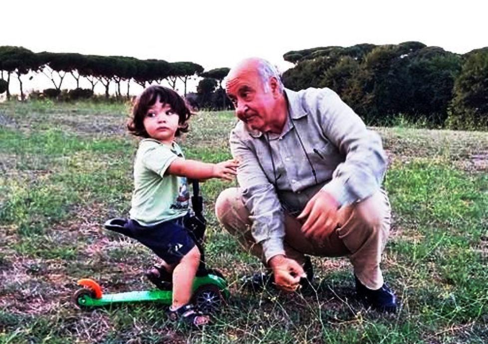 Fausto Perri col nipotino
