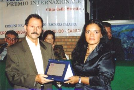 Premio al concorso di poesia Reggio Calabria