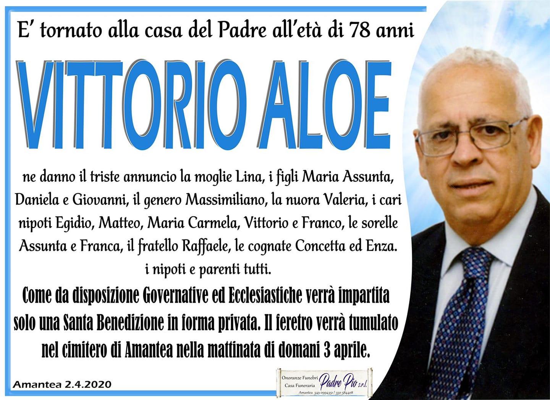Manifesto Funebre Vittorio