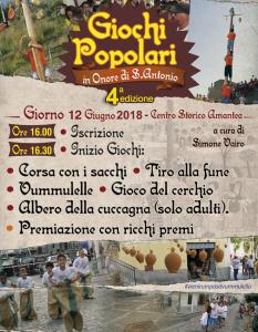 Giochi Popolari Tradizionali Amantea 2018