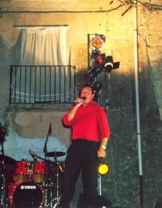 Esibizione del Cantante Amedeo