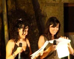 Maria Elena e Ombretta presentano la serata