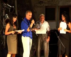 Premiazione del decano della Calavecchia Antonio Munno