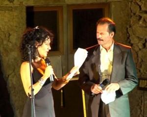 premiazione poeta  Franco Bazzarelli