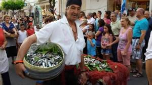 MARE d'aMARE: corteo e scenette pescatori